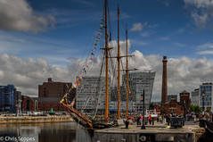 7DWF - Saturday - Landscapes (Chris Scopes) Tags: 7dwf saturday landscapess liverpool albertdock tallship landscape