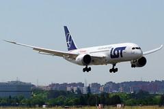 SP-LRF 787-8 LOT para Air Europa (Antonio Doblado) Tags: barajas madrid adolfosuarez splrf boeing b787 787 lot aireuropa