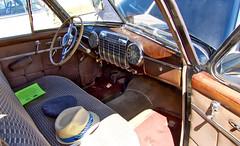 Oldie but Goodie Interior (mmorriso2002) Tags: car 1940s interior originalcondition carshow johnsonscornerfarm medford newjersey