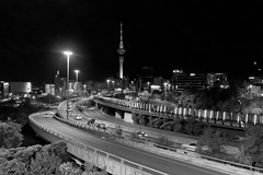 Auckland nocą | Auckland at night