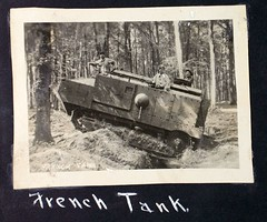 AL-44 1st Aero sq Album Image_000218 (San Diego Air & Space Museum Archives) Tags: france tank wwi worldwari worldwarone ww1 greatwar firstworldwar panzer schneider ca1 thegreatwar wk1 armoredwarfare armouredwarfare schneiderca1 firstaerosquadron