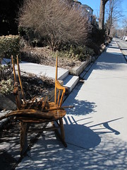IMG_1724 (marly.jane) Tags: city shadow toronto ontario canada broken nature canon spring chair rockingchair g11 marlyjane