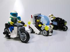 12 Dagger (*s-3*) Tags: car bike lego motocross sidecar レゴ