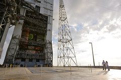 ULA Delta IV Heavy Launch Pad
