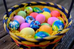 Tie Dye Easter Eggs (anzere03) Tags: easter velvia sooc fuji23mm fujixe2