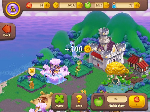 Tiny Castle Heads-Up Display: screenshots, UI