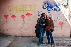 Her & Her (TerryJohnston) Tags: nyc newyorkcity gay portrait urban streetart newyork jason male art face wall graffiti dof bokeh jd jasonlawrence urbanwall canoneos5dmarkiii canon5dmarkiii 5dmarkiii jdurban