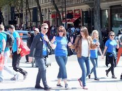 London Marathon Aftermath (Waterford_Man) Tags: street people london marathon candid runners paths