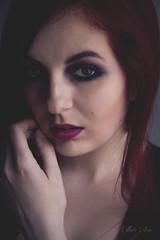 Nave (112/365) (istar_world) Tags: portrait espaa woman selfportrait girl self canon photography spain innocent makeup 7d innocence 365 naive redhair autorretrato burgos 365days 365project estherestoa