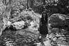 pantalica gorge portrait (gorbot.) Tags: portrait blackandwhite river gorge roberta rangefindercamera mmount leicam8 silverefex voigtlander28mmultronf19 riservanaturaleorientatapantalica anapovalley
