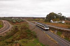 Regional por Tierra de Barros (Nohab0100) Tags: train tren railway camello comboio ferrocarril renfe automotora 592 dmu macosa 5922 cochemotor