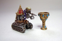 Space Hulk 2009 - Blood Angels - C.A.T and Chalice Artifact (Bronzetooth) Tags: blood space 40k angels warhammer marines hulk