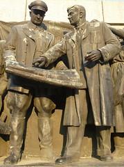 Monuments to Soviet Army (dibach) Tags: sofia statues communism bulgaria worldwar2 bulgarianhistory monumentstosovietarmy sovietarmymonumentpark parkoftheknayaz