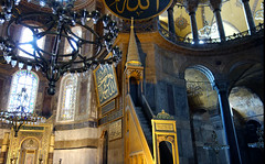 Minbar, Hagia Sophia