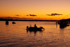 Dawn on the river (joolsgriff) Tags: sunrise river dawn cloudy noosa noosaville