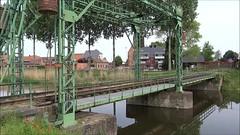 SCM Steamlocomotive N TKh 5387 with a tourist train on the vintage bridge at Balgerhoeke. (Franky De Witte - Ferroequinologist) Tags: de eisenbahn railway estrada chemin fer spoorwegen ferrocarril ferro ferrovia