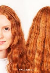RHD12_017aX (Dutch Design Photography) Tags: red portrait people dutch face hair ginger long day head being curls days redhead human short mens straight portret rood gezicht haar roodharigendag redheadday