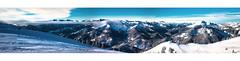 Alpen Panorama (mrvn rsky) Tags: blue winter panorama white mountain snow mountains canon bayern bavaria glacier 5d alpen spitzing markiii