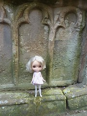 Andrea Amoré exploring Beauly Priory
