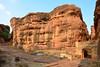 India - Karnataka - Badami Caves - 17 (asienman) Tags: india architecture caves karnataka badami chalukyas vatapi asienmanphotography