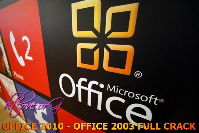 Bộ cài đặt Office 2010 cùng Office 2007 và Office 2003 Full không cần Crack
