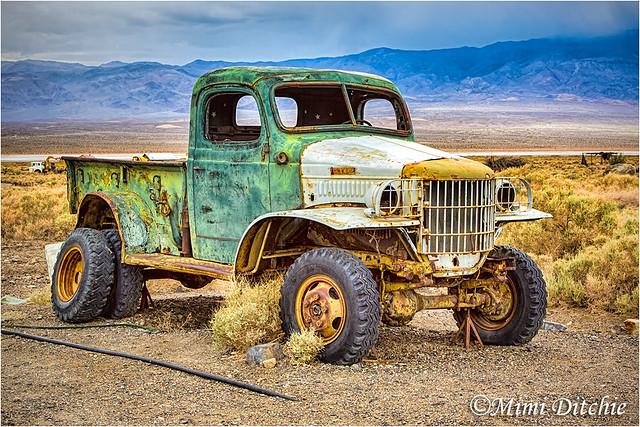 truck deathvalley manson charlesmanson dodgepowerwagon 52014 4x4truck charlesmansonsgetawaytruck