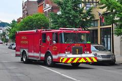Covington Fire Department Rescue 1 (Triborough) Tags: rescue kentucky ky firetruck newport fireengine hackney spartan cfd campbellcounty rescue1 covingtonfiredepartment