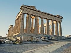 Parthenon on Acropolis - Athens Greece (Greenworld49) Tags: temple democracy ancient athens parthenon greece acropolis oldtemple greektemple ancienttemple ancientmonuments greekmonuments parthenontemple ancientgreektemple