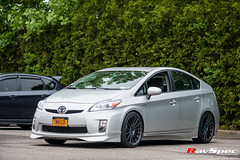 "Toyota Prius with Enkei RS05RR • <a style=""font-size:0.8em;"" href=""http://www.flickr.com/photos/64399356@N08/14229145476/"" target=""_blank"">View on Flickr</a>"