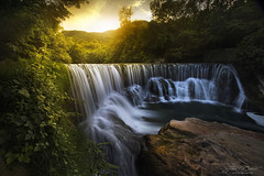 Cascade de la vis (JD Photographie.) Tags: light summer france water canon river europe ray falls languedoc 1740 6d hrault 17mm