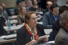 Isabelle Paillet participates at the Sustainable Mobility Side Event