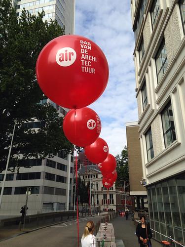 Cloudbuster Rond Bedrukt Dag van de Architectuur Rotterdam