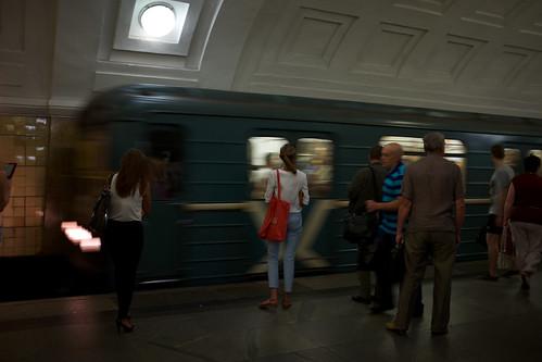 Moscow rush /  ©  Still ePsiLoN