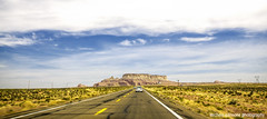Country Road (Michele Cannone) Tags: arizona sky usa driving desert country canyon page