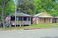 buildings georgia flags business historical waterpump andersonville vernacularbuildings