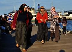 Toronto. (rbrnal) Tags: woman lake toronto ontario canada girl fashion photo spring