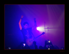Gary Numan (Seeing Things My Way...) Tags: lighting musician music concert audience metro guitar stage gig sydney australia nsw guitarist lespaul electricguitar garynuman metrotheatre