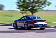 Porsche 911 Turbo (scott597) Tags: ohio cars coffee grey lol 911 turbo porsche mpg dayton 997 2014