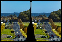 Kaltes Feld 3D ::: DRi Hyperstereophotography (Stereotron) Tags: 3d 3dphoto 3dstereo 3rddimension spatial stereo stereo3d stereophoto stereophotography stereoscopic stereoscopy stereotron threedimensional stereoview stereophotomaker stereophotograph 3dpicture 3dglasses 3dimage crosseye crosseyed crossview xview cross eye pair freeview sidebyside sbs kreuzblick hyperstereo twin canon eos 550d yongnuo radio transmitter remote control synchron in synch kitlens 1855mm tonemapping hdr hdri raw cr2 europe germany saxony sachsen vogtland b94 bundesstrase road kaltesfeld reichenbach heinsdorfer grund a72 autobahn herbst autumn indian summer 3dframe fancyframe floatingwindow spatialframe stereowindow window 100v10f
