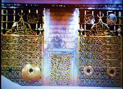 Doors to the Tomb of Prophet Mohamed (PBUH) (Iqbal Osman1) Tags: middleeast saudiarabia madinah doorstothetomb