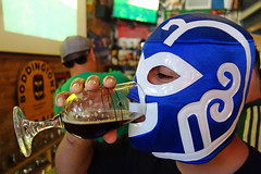 Wrestling makes you thirsty (thejuiceman) Tags: california mexico soccer sony pasadena lucha libre rx100