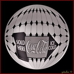 Ice Cold Coke (the Gallopping Geezer 3.5 million + views....) Tags: old building classic sign wall canon vintage restaurant drink ad indiana diner coke structure advertisement signage southside cocacola dine geezer foos 2010 corel goshen advertise