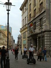 Lipscani Street, Bucharest (Carpathianland) Tags: street people architecture strada pedestrian streetscene scene romania pedestrians scena streetscape bucuresti piata oameni bulevardul arhitectura trecatori stradala