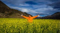 Тибетский пейзаж и я