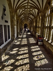 Wells cathedral cloisters (pike head) Tags: uk england cathedral wells somerset olympus cloisters e30