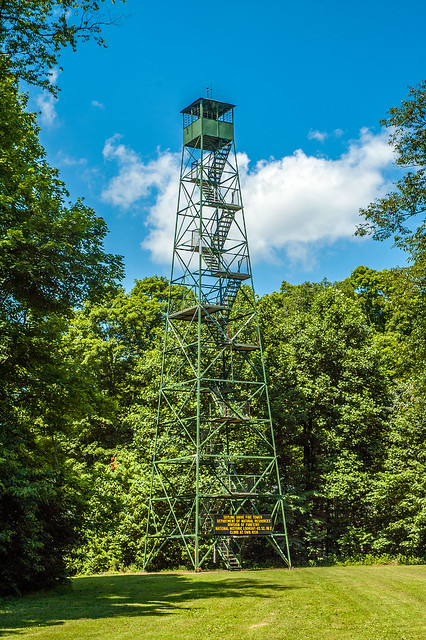Jackson-Washington State Forest - Skyline Drive Fire Tower - June 25, 2014