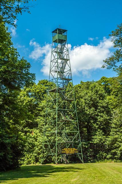Jackson-Washington State Forest - Skyline Drive Fire Tower - June 25, 2014