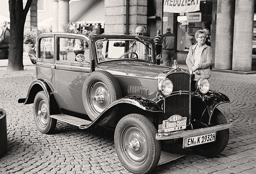 Wuppertal-Barmen: Opel 1,2 Liter, ca. 1932