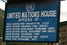 blue sign listing U.N. agency offices (cam17) Tags: bhutan aidagencies blueunsign agencylist activeagencies bhutangeneral bhutancountryside unoffices unagenciessign