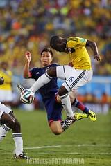 Japan vs Colombia (Kwmrm93) Tags: sports sport canon football fussball fifa soccer worldcup futbol futebol fotball voetbal fodbold calcio deportivo fotboll  deportiva esport fusball  fotbal jalkapallo   nogomet fudbal  votebol fodbal